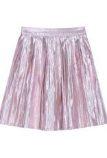 Velveteen paola skirt- pink gold