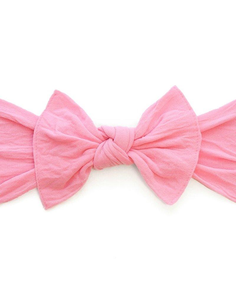 Baby Bling knot headband-bubblegum
