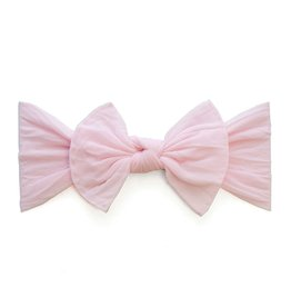 Baby Bling knot headband-pink