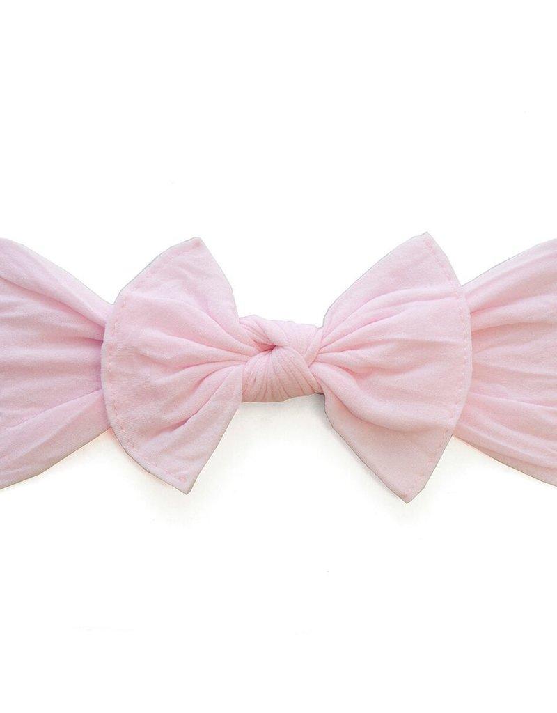 Baby Bling knot headband-pink