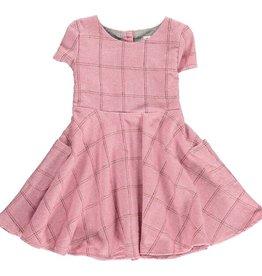 Vignette debbie dress- rose