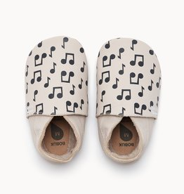 The Bonnie Mob lennon notes slipper