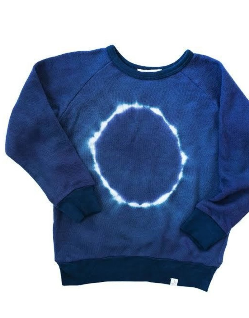 Little Moon Society emerson pullover- blue moon
