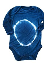 Little Moon Society gray bodysuit- blue moon