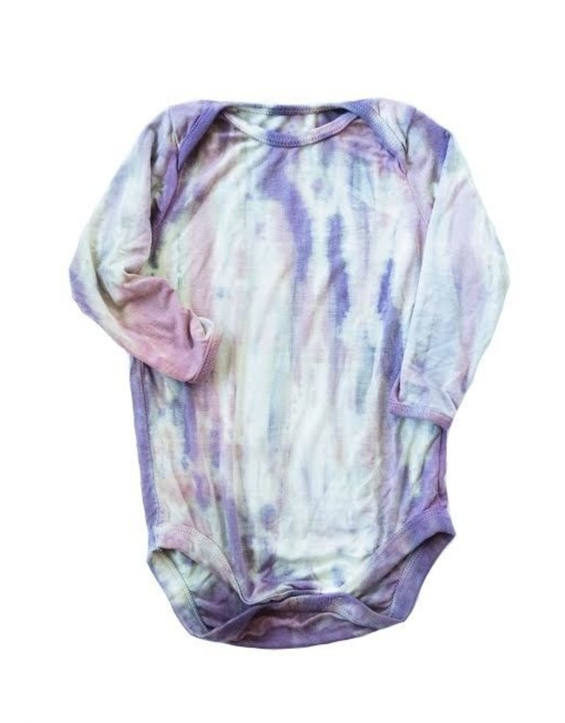 Little Moon Society gray bodysuit- dahlia