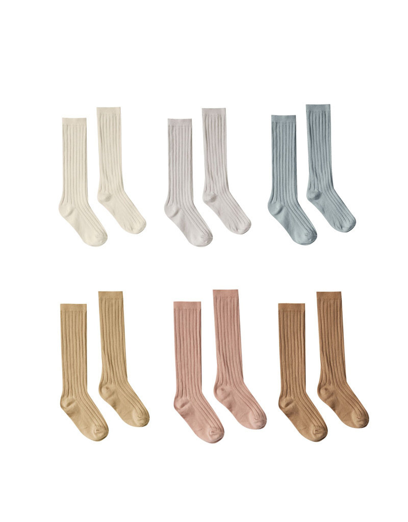 Rylee and Cru solid knee socks