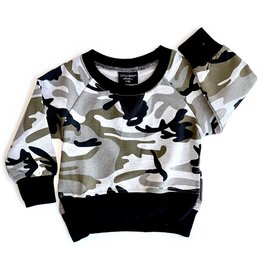 Little Bipsy Collection pullover- camo