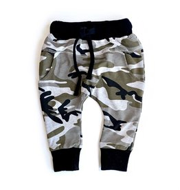 Little Bipsy Collection joggers- camo