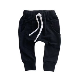 Little Bipsy Collection joggers- black