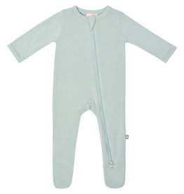 Kyte Baby zippered footie- sage