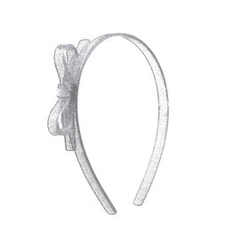 Lilies & Roses HB thin bow- silver