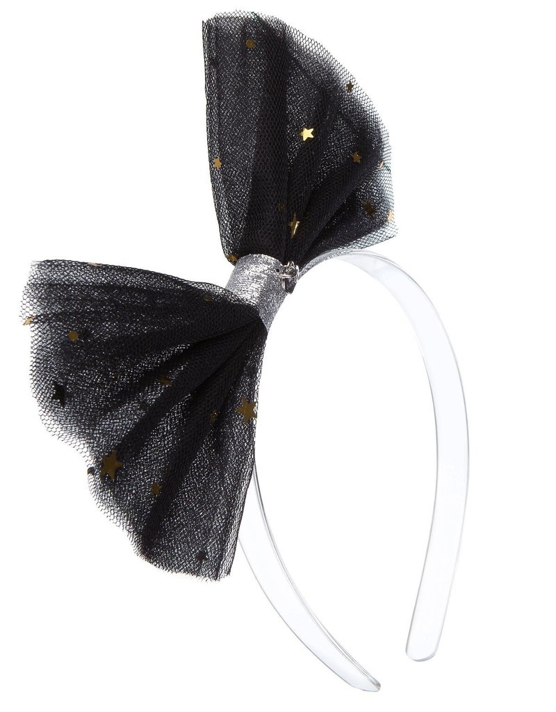 Lilies & Roses HB tulle- black