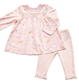 Angel Dear goats dress and legging set