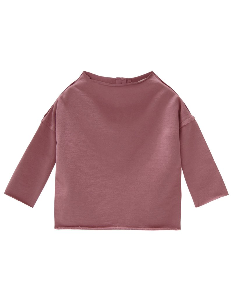 Go Gently Nation pullover sweatshirt- berry