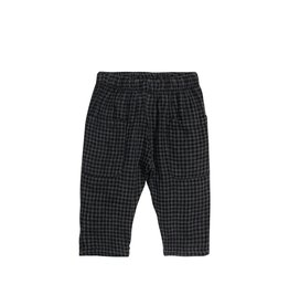 Go Gently Nation woven pant- black gingham