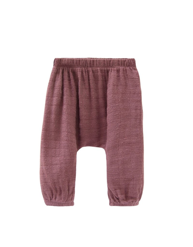 Go Gently Nation gauze pant- berry