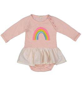 Everbloom skirted rainbow onesie