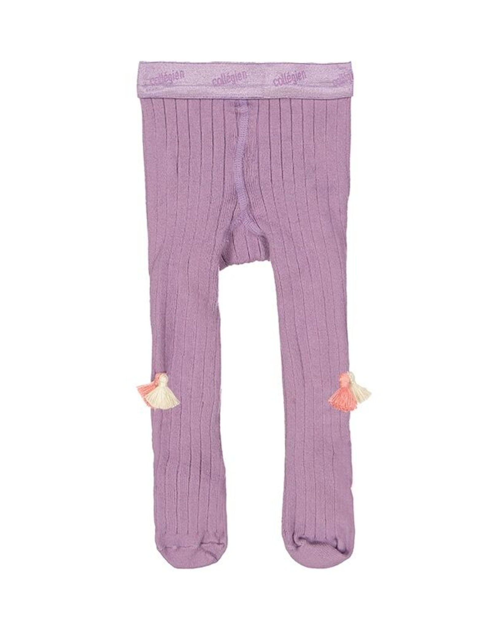 Everbloom tassel tights- lavender