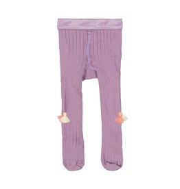 Everbloom tassel tights- lavender