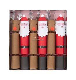 Meri Meri santa & reindeer party crackers