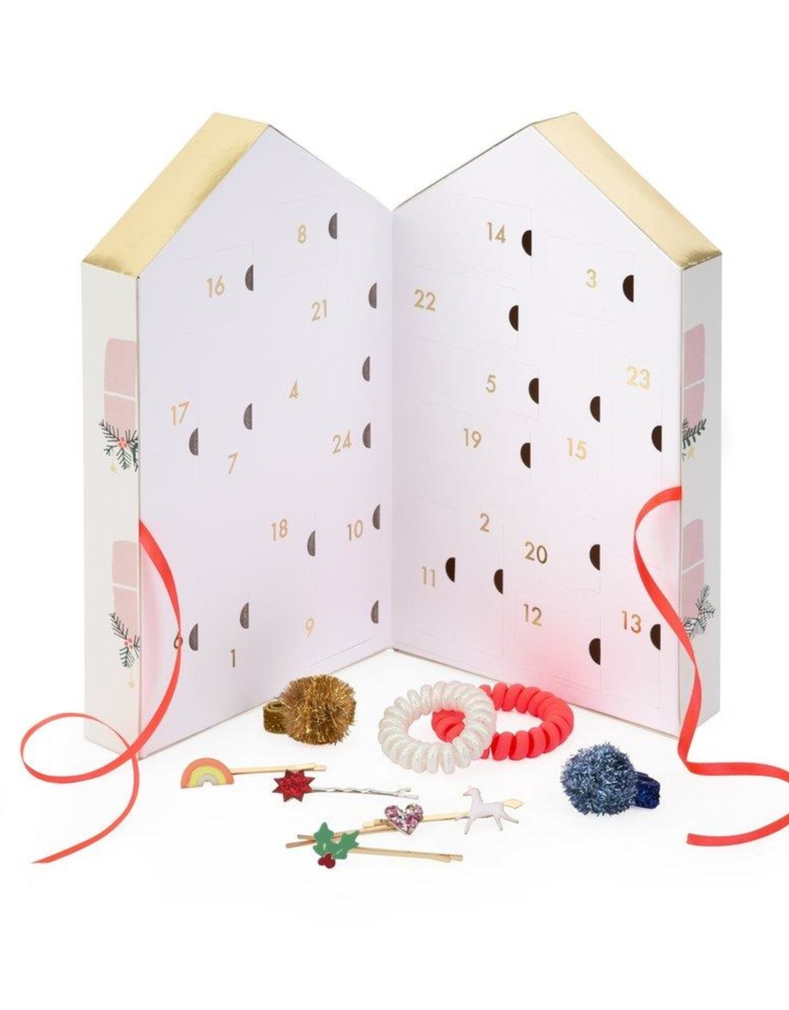 Meri Meri hair accessory advent calendar