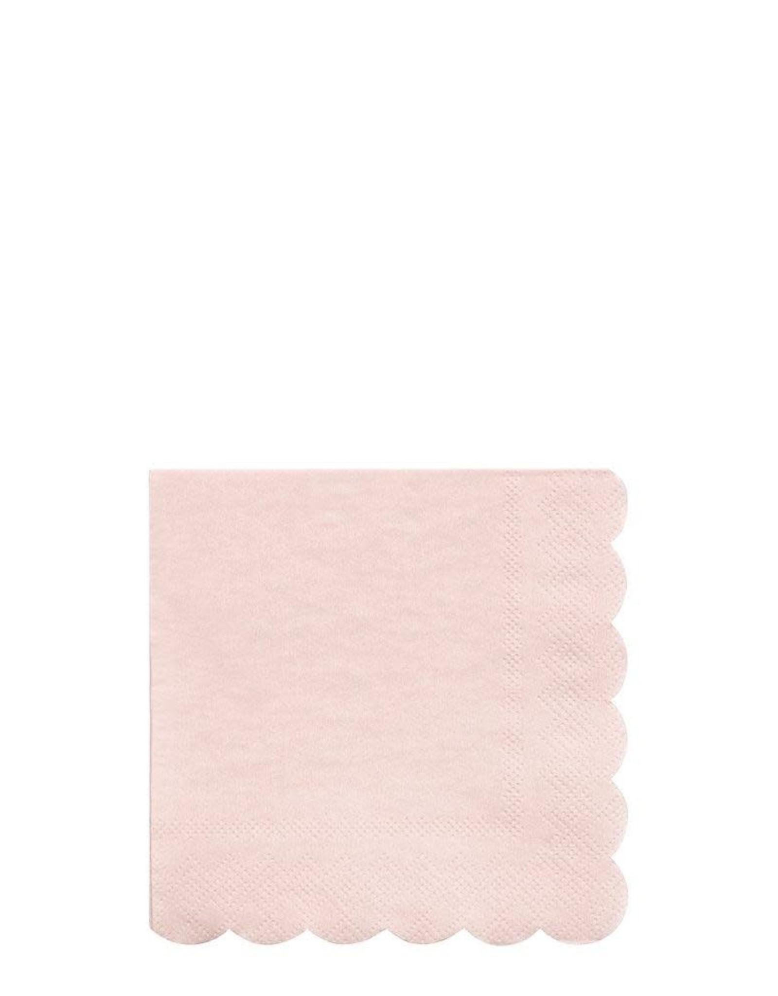 Meri Meri dusty pink napkins
