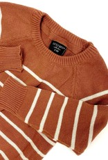 Little Bipsy Collection knit sweater- rust