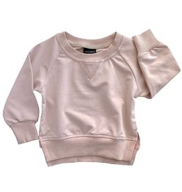 Little Bipsy Collection pullover- blush