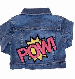 Wee Monster POW denim jacket