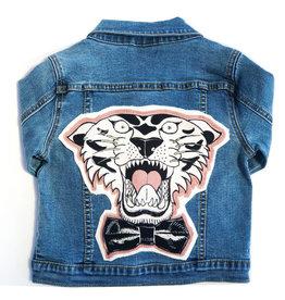 Wee Monster tiger denim jacket