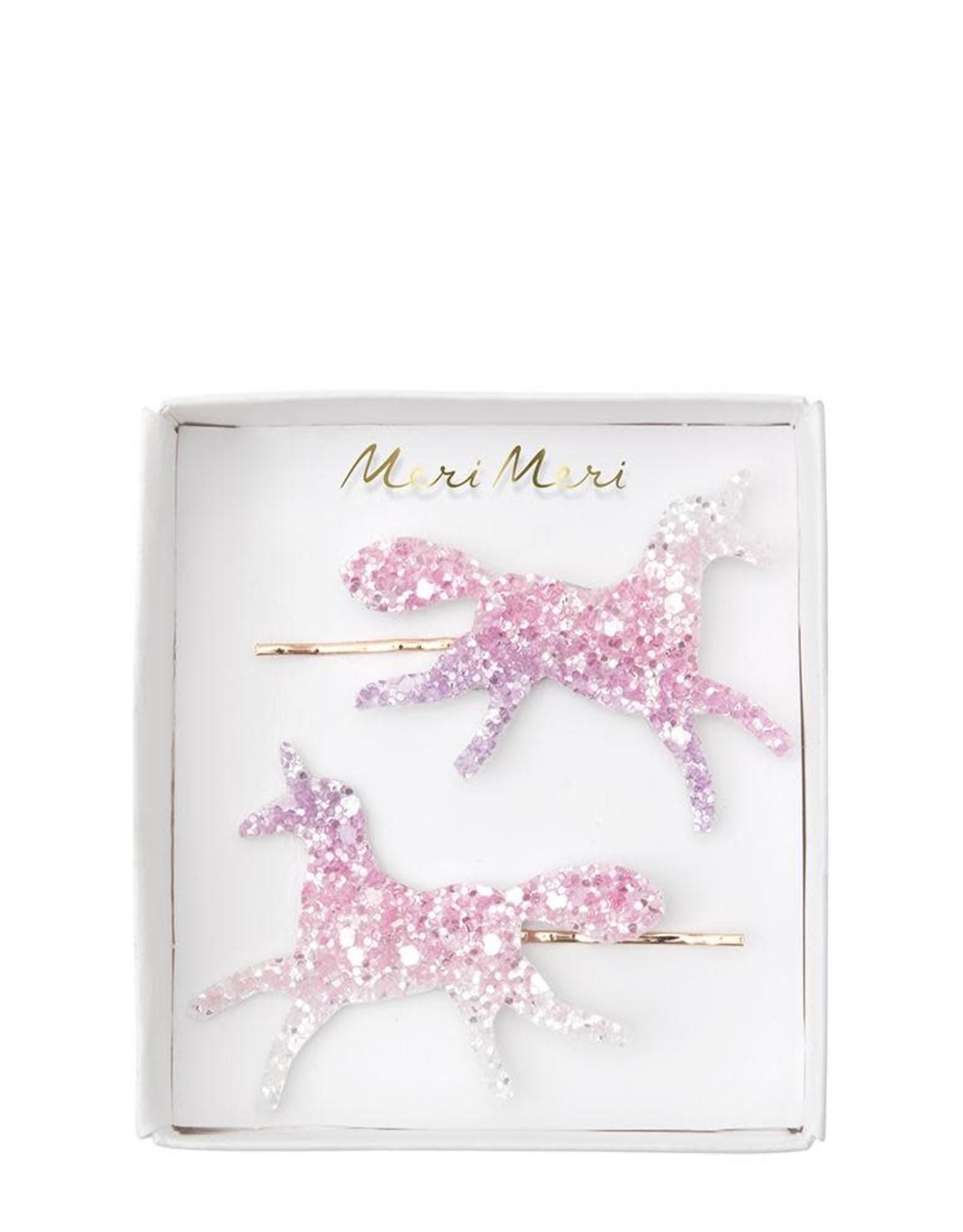 Meri Meri ombre unicorn hairclips