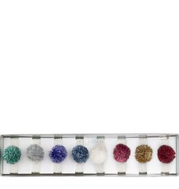 Meri Meri tinsel pompom hair ties