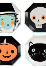 Meri Meri Halloween character plates