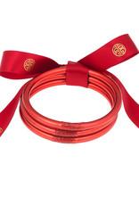 BuDhaGirl bangles (set of 3)- crimson