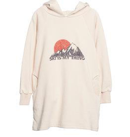 Wander & Wonder hoodie dress- mountain