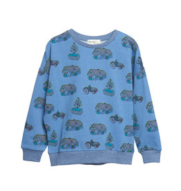 Wander & Wonder print sweatshirt- farm