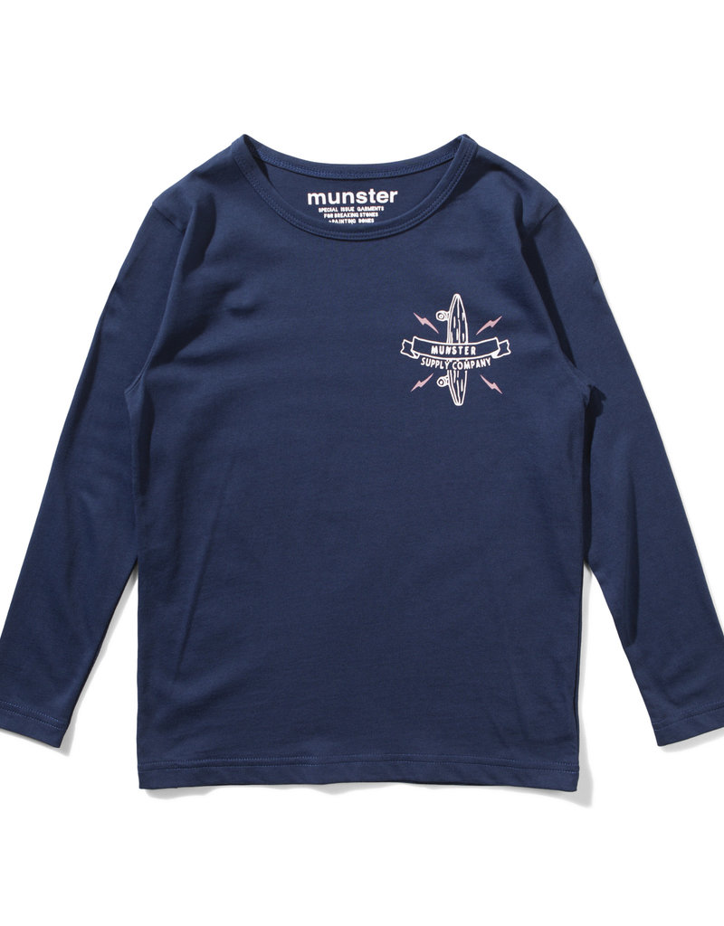 Munster Kids logo bolt- midnight