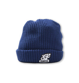 Munster Kids grrr beanie- navy