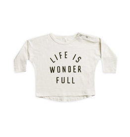 Rylee and Cru life is wonderful l/s tee