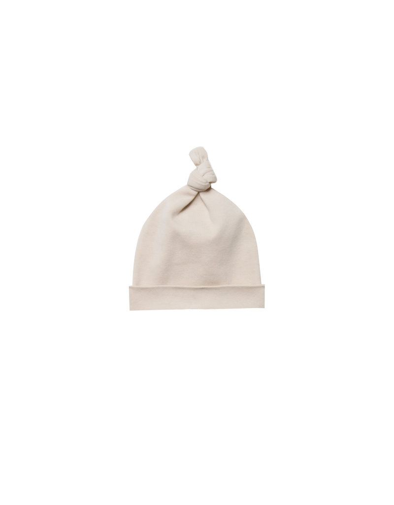 Quincy Mae knotted baby hat- rose