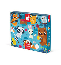 Janod forest animals tactile puzzle
