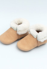 Freshly Picked shearling mocc- weathered brown