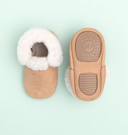 Freshly Picked shearling mini sole- weathered brown