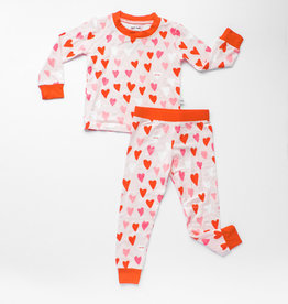 Little Sleepies hearts pajamas