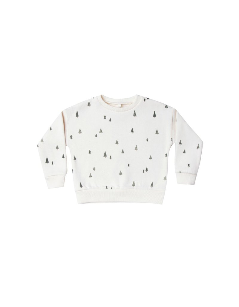 Rylee and Cru trees relaxed sweatshirt