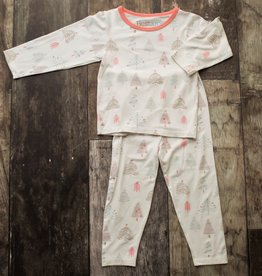 Bestaroo PJ Set- holiday pink