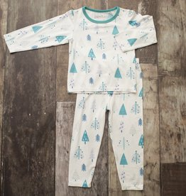 Bestaroo PJ Set- holiday blue