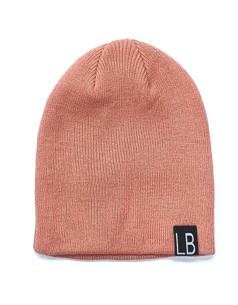Little Bipsy Collection knit beanie- dusty rose