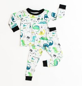 Little Sleepies dinosaur pajamas