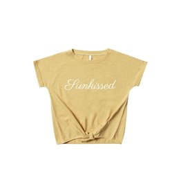 Rylee and Cru sunkissed knotted tee